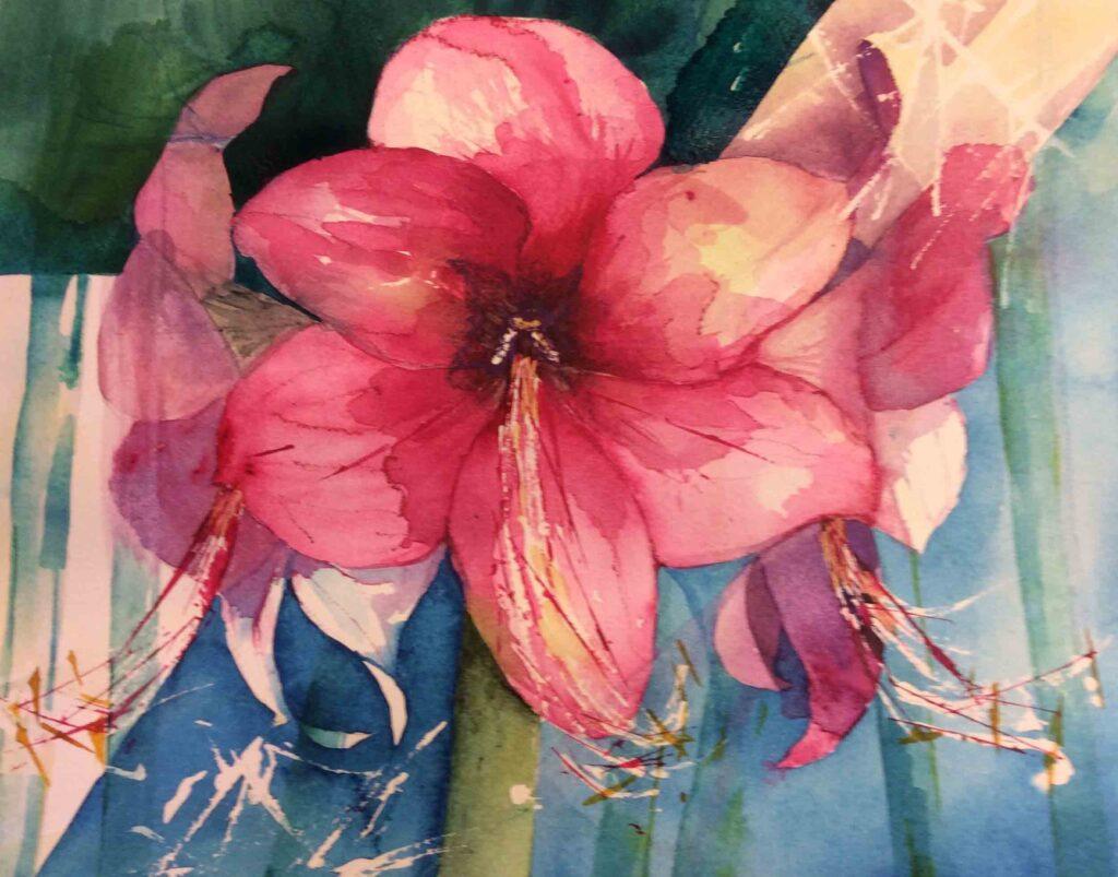 Amaryllis-by-Carol-Whitehouse