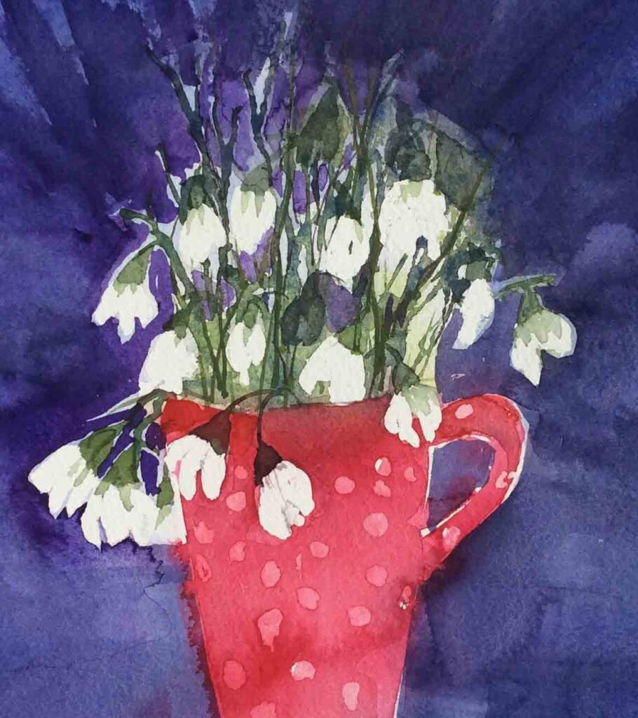 Jug-of-Snowdrops-by-Carol-Whitehouse