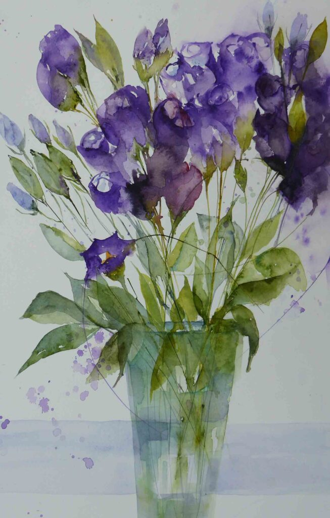 Lisianthus--by-Carol-Whitehouse--SOLD