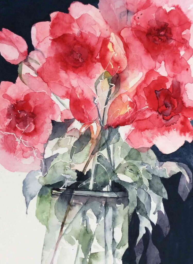 Roses-by-Carol-Whitehouse---SOLD