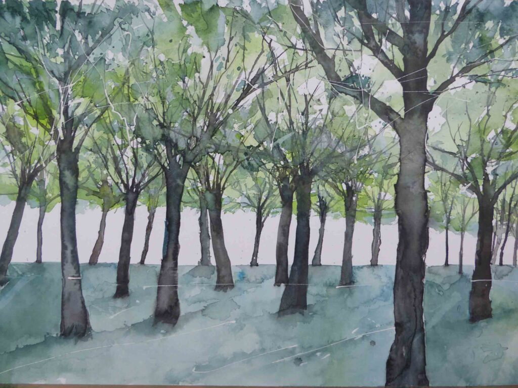 Through-the-Trees-by-Carol-Whitehouse---SOLD
