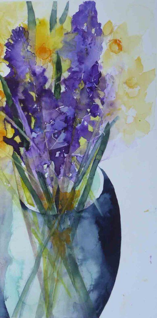Hyacinths-and-Daffodils-by-Carol-Whitehouse