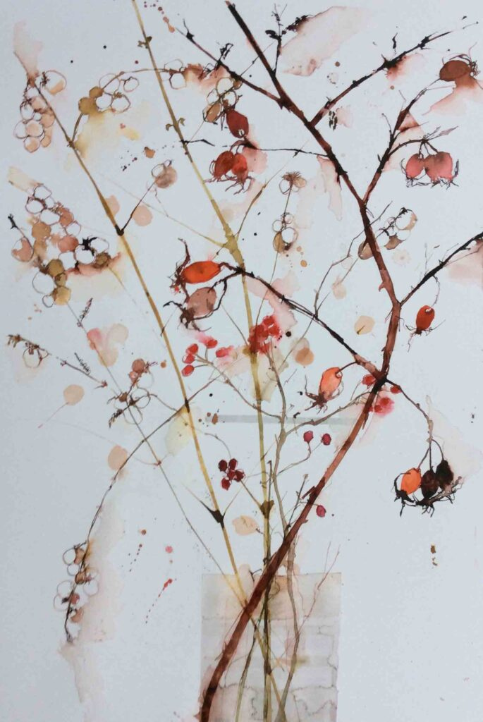 Snow-Berries-and-Rosehips-greetings-card-by-Carol-Whitehouse