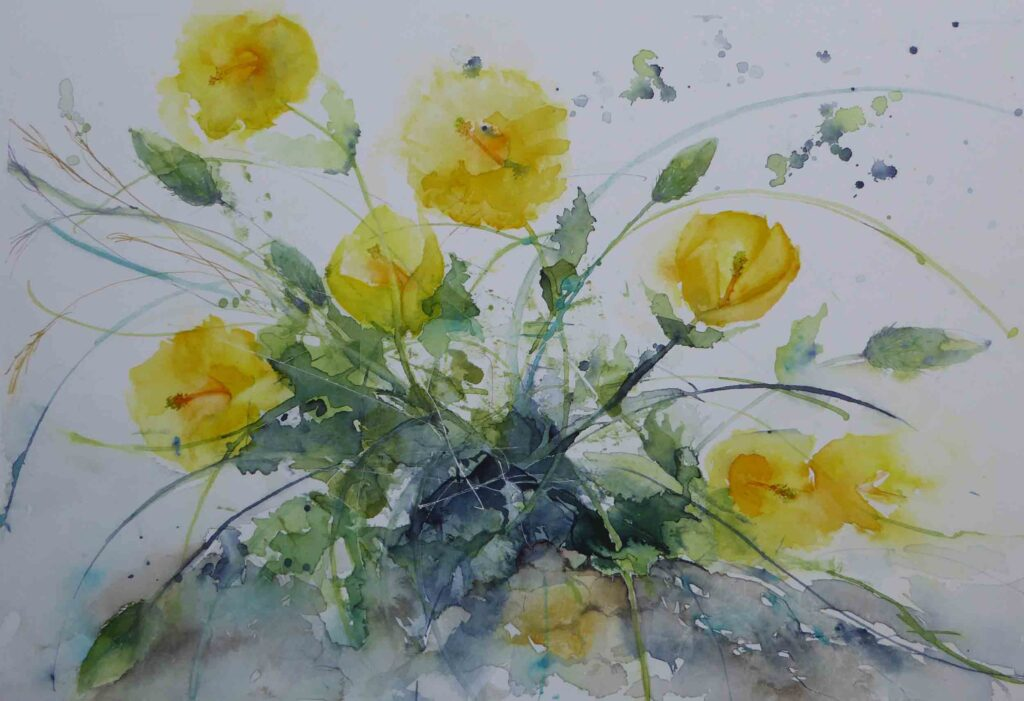 Yellow-Horned-Poppies-by-Carol-Whitehouse