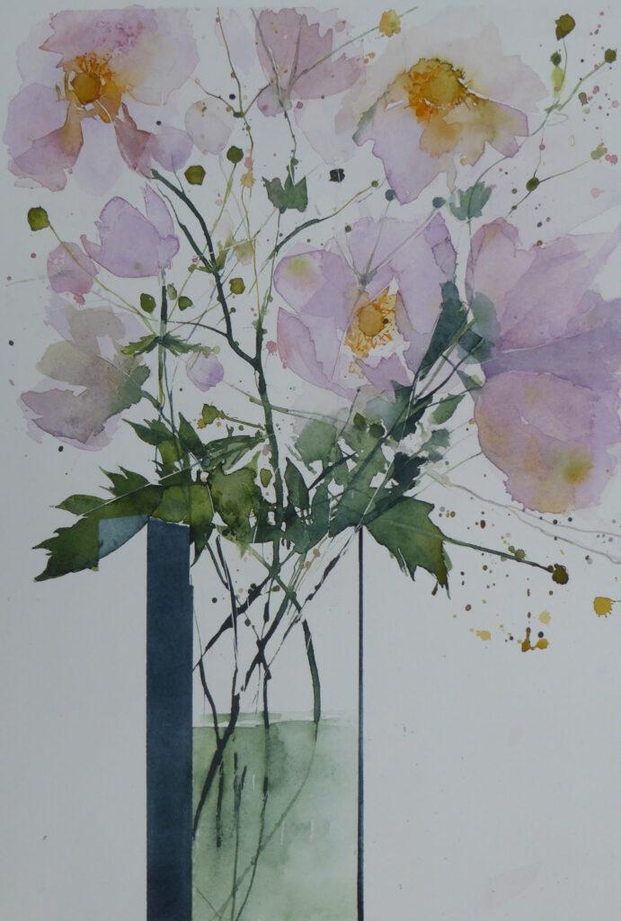 Japanese-Anemones-by-Carol-Whitehouse
