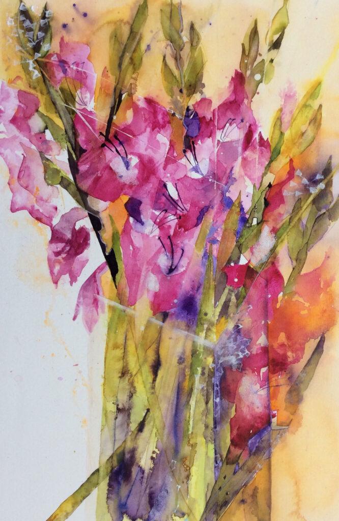 Gladioli--by-Carol-Whitehouse