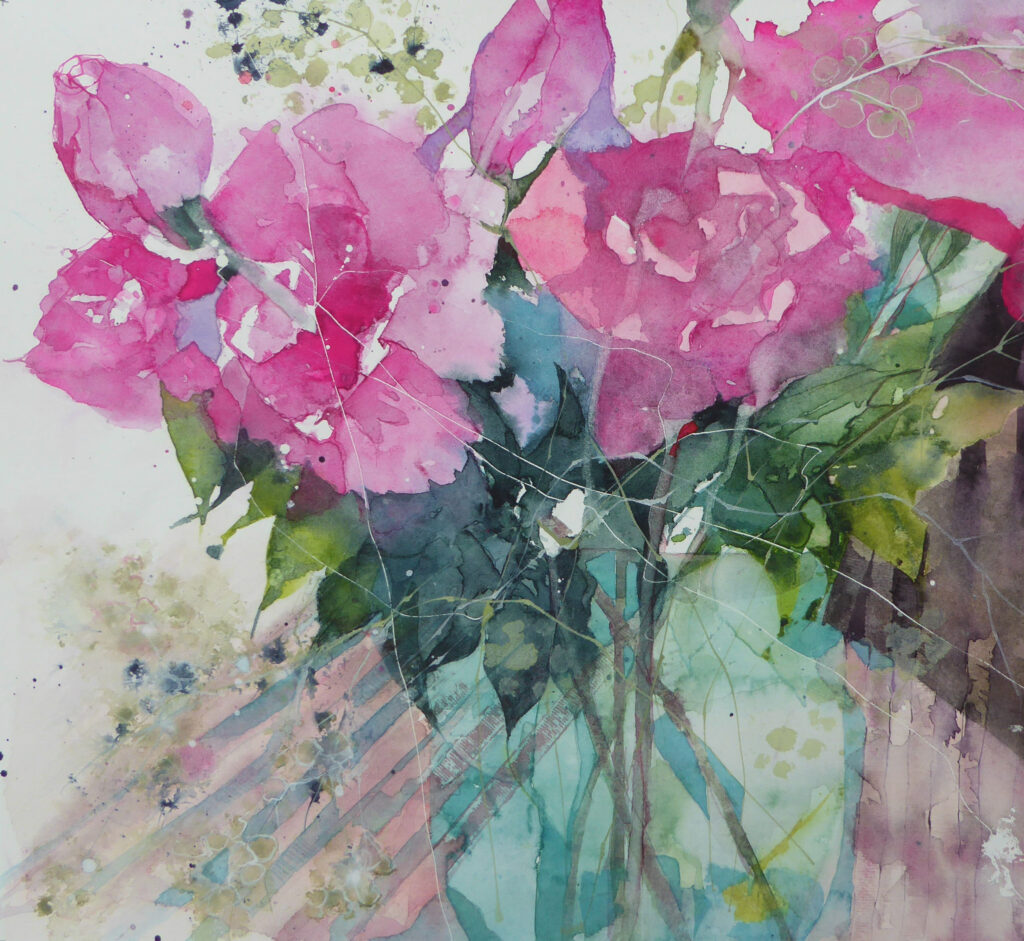Pink-Roses-greetings-card
